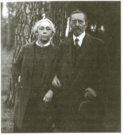 Käthe und Karl Kollwitz 1924