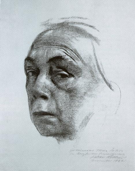 Käthe Kollwitz, Selbstbild