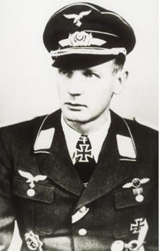 Rudolf Rademacher, Pilot der Me 262