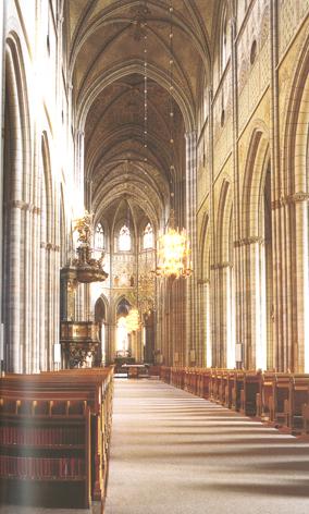 """Dom zu Uppsala (aus dem Führer """"Der Dom zu Uppsala"""")"""