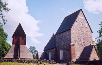 Kirche von Gamla Uppsala (aus: Wikipedia)