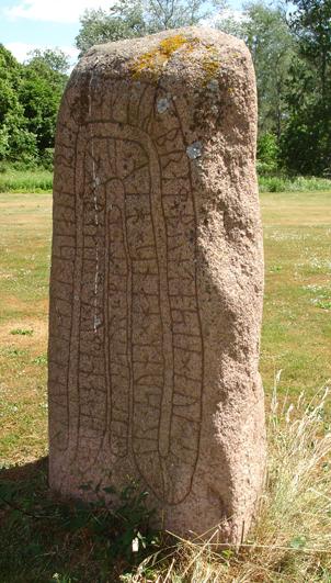 Runenstein am Schloß Krageholm
