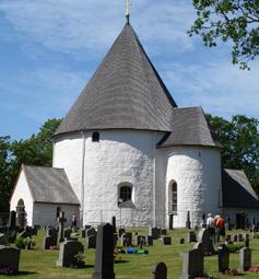 Rundkirche in Hagby/Schweden