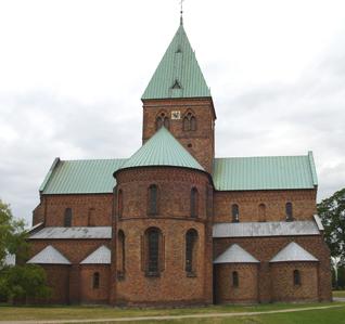 St. Benedikt-Kirche (1170), älteste Backsteinkirche Dänemarks